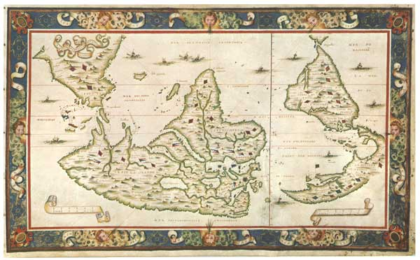 Piri Reis Karte Atlantis.The Mysteries Of The Piri Reis Map 2