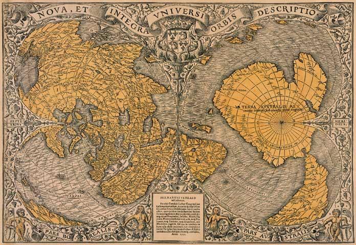 Cartina 1500.I Misteri Della Mappa Di Piri Reis 2