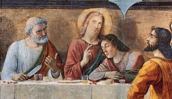 Domenico Ghirlandaio, Cenacolo di Ognissanti, Firenze
